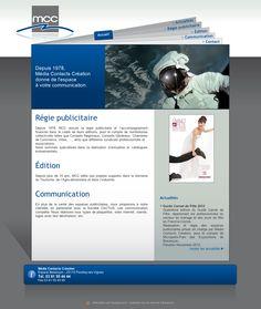 Site vitrine de la société MCC, régie publicitaire et édition à Pouilley-les-Vignes.  Administration sur-mesure des documents et des actualités. www.mcc-editions.com