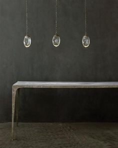 Celestial Pebble Three Pendants by Ochre