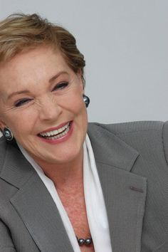 Julie Andrews. If I ever met her, I think I would cry, fall over, and curl up in a ball. Then I would get back up and hug her.