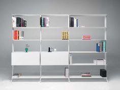 Alias, libreria disegnata da Dante Bonucelli - Irregolari ed essenziali le librerie 2012