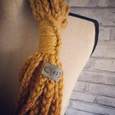 Mustard Yellow Women's Scarf. Knit Infinity Scarf. Golden Chain Scarf. Womens Knit Cowl. Braided Yel#braided #chain #cowl #golden #infinity #knit #mustard #scarf #womens #yel #yellow Scarf Knit, Knit Cowl, Bonfire Parties, Staple Pieces, Mustard Yellow, Womens Scarves, Happy Shopping, Mustard Scarf, Infinity