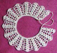 Resultado de imagem para crochet collar pattern