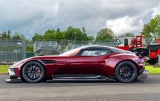 Aston Martin is known around the world as one of the premier luxury car makers. The Aston Martin Vulcan is a track-only supercar Aston Martin Vulcan, Aston Martin Lagonda, Aston Martin Cars, Porsche, Audi, Ferrari, Lamborghini, Sexy Cars, Hot Cars