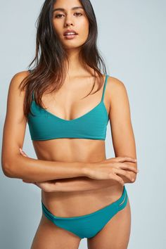 e015735e85 Shop the Citrine Swim Stella Bikini Top and more Anthropologie at  Anthropologie today. Read customer