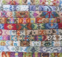 Fair Isle Blanket Club van Mary Wallin