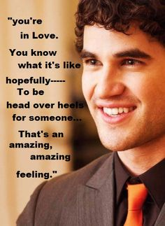 <3 I do know Darren..I LOVE YOU DARREN CRISS <3 and it is an amzing feeling
