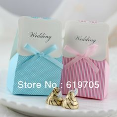 Free shipping Favor Boxes wedding candy box sweet box Engagement favors gifts box favors  $59.90
