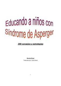 Como educar a ninos asperger-110220150056-phpapp02 by PHONOS via slideshare