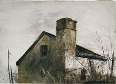 Andrew Wyeth Famous Painting Titles Art Images and Pictures Collection Andrew Wyeth Paintings, Andrew Wyeth Art, Jamie Wyeth, Nc Wyeth, Watercolor Landscape, Watercolor Painting, Famous Artists, American Artists, Les Oeuvres