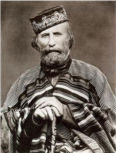 "Guiseppe Garibaldo - one of Italy's ""fathers of the fatherland"". Garibaldi was a central figure in the Italian Risorgimento. Gaucho, Italian Unification, Giuseppe Garibaldi, Rome, Kingdom Of Italy, Expo Milano 2015, Historia Universal, Second World, American Civil War"