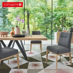 Cartesio Table at Calligaris San Diego