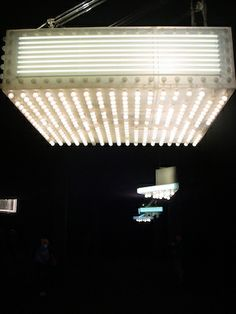 Installation photo taken by the writer during the Philippe Parreno Philippe Parreno, Artistic Installation, Ceiling Lights, Lighting, Savage, Garland, Lamps, Writer, Google Search