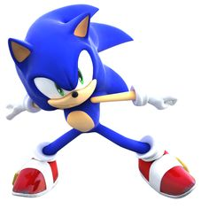 Sonic the Hedgehog - I think this looks like a Sonic X pose.