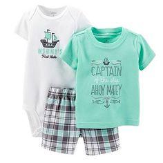 Carter's shirt and shorts set