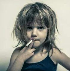 Is this image disturbing?  Well… to be honest, it's supposed to be…  We would NEVER think about giving our kids an addictive cigarette with their breakfast! So why are we pumping them full of the #1 consumed drug worldwide? …..SUGAR!   We are getting them addicted to sugar at a young age and setting them up for failure – childhood obesity has become an epidemic… 20% of teenagers are obese. On average a child consumes 32 teaspoons of sugar a day!   Studies show that sugar is 8 times more…