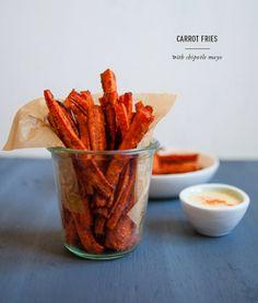 carrot fries / blog.jchongstudio.com