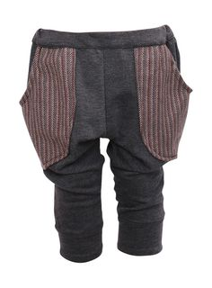 Boys Harem Pant with Herringbone Pockets by BubbaNBooBoo on Etsy, $39.95