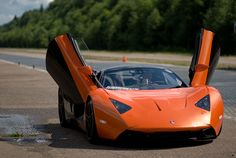 Russia's first supercar --- Marussia --- Front