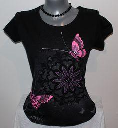 Tričko - motýlci   Zboží prodejce E-Motýl 9ace8c3764