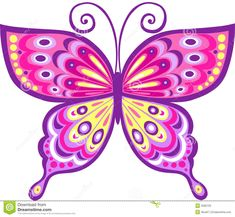 Blue Butterfly Clipart | ClipArtHut - Free Clipart