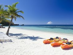 Tabyana Beach, Isla Roatan, Honduras. Amazing snorkeling near the rocks on the left. Fish literally 4 ft from the beach
