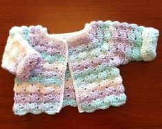 Crochet Baby Patterns Hour Nap Crochet Sweater Free Pattern - Every little girls needs a crochet sweater! Ans all of these Girls Sweater Crochet Patterns are just too precious not to share! Crochet Baby Sweater Pattern, Crochet Baby Jacket, Gilet Crochet, Crochet Baby Sweaters, Baby Sweater Patterns, Crochet Baby Clothes, Crochet Cardigan, Baby Patterns, Baby Knitting