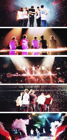 One Direction. Its amazes me how far they've come in just 3 years.. Ive watched them grow as artists as well as human beings and for that i am grateful. I am proud to call theses five boys my idols