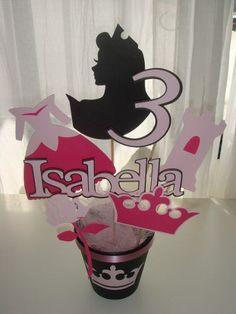 Princesas Bella Cenicienta Aurora Ariel Centro De Mesa Cumpl