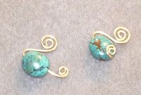 Wire Wrapped Earring Tutorial: Beginner: How to Make Spiral Swan Earrings | Perfectly Twisted