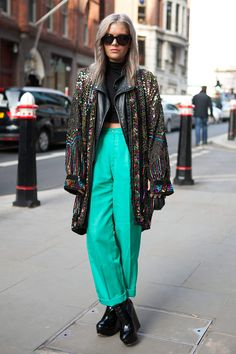 El street style de London Fashion Week Otono 2013