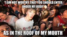 True Pictures - Search our So True memes, pictures, videos & more! Find funny but true memes that show just how hilarious life can be. Keep Calm and Chive on! Sudden Clarity Clarence, Doctor Who, Calvin E Hobbes, Clash On, Hymen, The Villain, Mind Blown, That Way, Best Funny Pictures