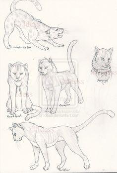Warriors Cats by Idess.deviantart.com on @deviantART