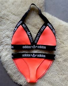 Reworked Handmade Adidas Lingerie or Fashion Bikini set