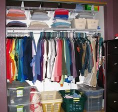 A well-organized, clean closet will help make deciding what to wear easier than ever.
