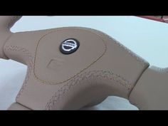 Plastic Trims of a Steering Wheel in Leather (Part 2) - YouTube