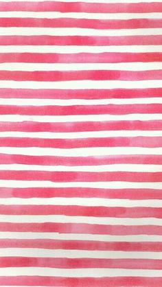 Redish watercolor stripes