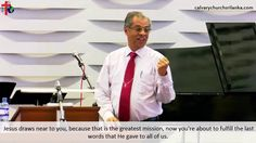 Rev. Dr. Tissa Weerasingha teaches us that when we share Jesus, He will command joy into our life.    Watch the full sermon here: https://youtu.be/Y9Fw29qI0WE  ‪#‎calvarychurchsrilanka‬ ‪#‎sharethegospel‬ ‪#‎joy‬ ‪#‎salvation‬