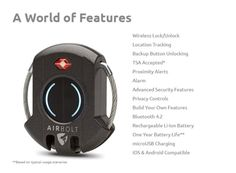 AirBolt: The Truly Smart Travel Lock | Indiegogo