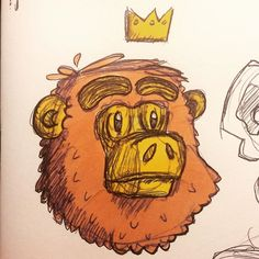 Dirty monkey scribble  Applying copic color on top of cheap ball pen strokes made the scribble smudge. Oh Well. #animal #monkey #copic #copicart #copics #sketchbook #instaart #sketch #ink #inking #copic #fineliner #doodle ##characterdesign  #fb #bendsen #illustration #illustrator #artwork #art #artist #artistsoninstagram #igers #love