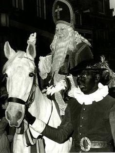 Sinterklaas en zwarte Piet, intocht Utrecht 1965