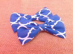 Fabric Bow Depot Special Deal: 2 for 5 fabric bows. .  Fabric bow Sale, get 2 fabric bow hair clips for 5.00. - pinned by pin4etsy.com