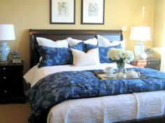 20 Incredibly Decorative King Sized Bed Pillow Arrangements