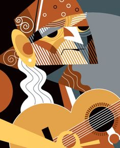 Willie Nelson by Pablo Lobato