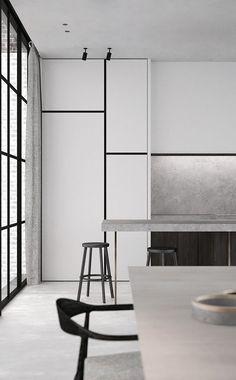 Minimalistic kitchen design inspiration | AD Office