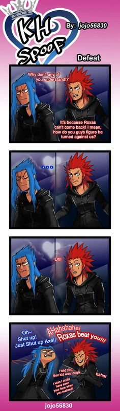 KH Spoof: defeat by jojo56830.deviantart.com on @DeviantArt