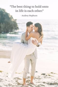 Most romantic love & marriage quotes of all time: http://www.stylemepretty.com/2016/08/10/best-romantic-love-marriage-quotes/