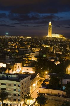 Night in Casablanca, Morocco