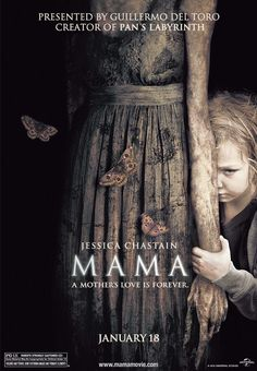 Jessica Chastain in the film Mama Horror Movies 2013, Horror Movie Posters, Scary Movies, Great Movies, Hd Movies, Movies And Tv Shows, Comedy Movies, Film Posters, Jessica Chastain