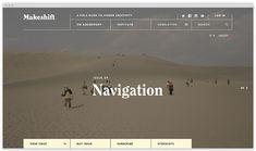 Makeshift in Website