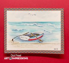 Creations by Dot J.: Ai Watercolor Weekend September 4, 2020 Dots Art, Water Color Markers, Christian Cards, Watercolor, Art Impressions Stamps, Watercolor Stamps, Art, Watercolor Boat, Watercolor Design